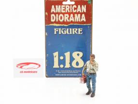 Kettenraucher Larry Figur 1:18 American Diorama