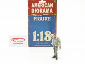 Schwitzender Joe Figur 1:18 American Diorama
