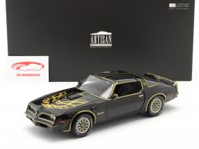 Pontiac Firebird Trans Am Baujahr 1977 schwarz / gold 1:18 Greenlight