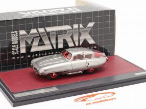 Pegaso Z-102 Cupula Coupe Anno di costruzione 1953 argento 1:43 Matrix