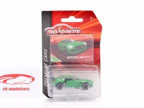Mercedes-Benz AMG GT-R verde 1:64 Majorette