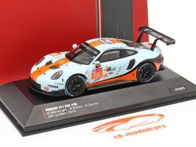 Porsche 911 (991) RSR Gulf #86 24h LeMans 2018 1:43 Ixo