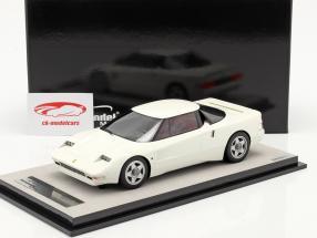 Ferrari 408 4RM Bouwjaar 1987 avus Wit 1:18 Tecnomodel