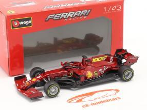 S. Vettel Ferrari SF1000 #5 Milésimo GP Ferrari Toscana GP F1 2020 1:43 Bburago