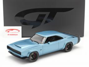 Dodge Super Charger Concept Car 建設年 2018 青い 1:18 GT-SPIRIT