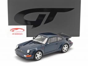 Porsche 911 (964) Turbo 3.3 Anno di costruzione 1991 amazon green 1:18 GT-SPIRIT