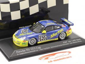 Porsche 911 GT3 #620 Dt. Endurance kampioenschap `04 Hulverscheid, Jacobs 1:43 Minichamps