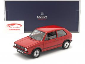 Volkswagen VW Golf I GTI year 1976 red 1:18 Norev