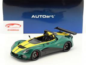 Lotus 3-Eleven vert / jaune 1:18 AUTOart