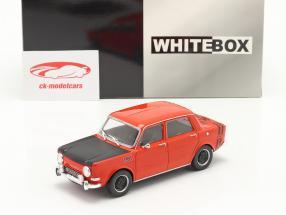 Simca 1000 Rallye 2 Anno di costruzione 1970 rosso / nero 1:24 WhiteBox
