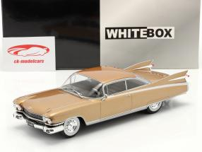 Cadillac Eldorado Année de construction 1959 bronze 1:24 WhiteBox