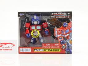 Autobot G1 Optimus Prime Movie Transformers 4 inch Jada Toys