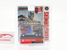 Western Star 5700 XE Optimus Prime Transformers 5 (2017) blauw / rood 1:64 Jada