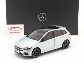 Mercedes-Benz Classe B (W247) Année de construction 2018 argent iridium 1:18 Z-Models