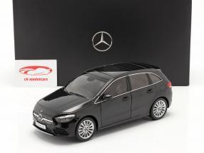 Mercedes-Benz Classe B. (W247) Anno di costruzione 2018 nero cosmo 1:18 Z-Models