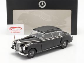Konrad Adenauer Mercedes-Benz Typ 300 (W186) schwarz 1:18 Norev