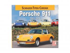 Book: Porsche 911 Schrader type chronicle 1963-1973