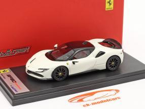 Ferrari SF90 Stradale Año de construcción 2019 avus blanco / negro 1:43 LookSmart