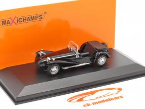 Lotus Super Seven 1968 negro 1:43 Minichamps