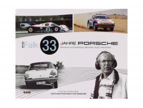 Libro: 33 Anni Porsche Da corsa e sviluppo a partire dal Peter Falk