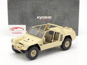 Lamborghini Cheetah Anno di costruzione 1977 cachi 1:18 Kyosho