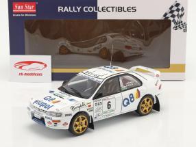 Subaru Impreza 555 #6 Vincitore Rallye del Ciocco 1998 1:18 SunStar