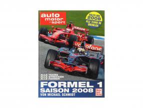 Buch: Formel 1 Saison 2008 von Michael Schmidt