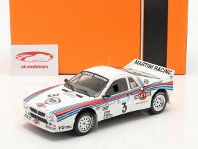 Lancia 037 Rally #3 vencedora Rallye acrópole 1983 Röhrl, Geistdörfer 1:18 Ixo
