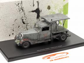 Maybach DSH mobile saw year 1981 grey 1:43 AutoCult