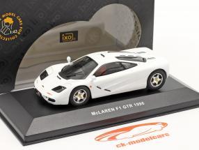 McLaren F1 GTR år 1996 hvid 1:43 Ixo