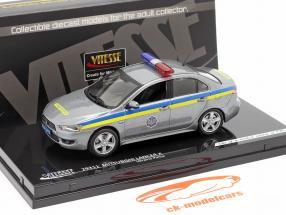Mitsubishi Lancer X Ucrania Policía 1:43 Vitesse