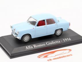 Alfa Romeo Giulietta Baujahr 1956 blau 1:43 Altaya