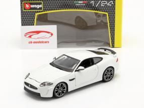 Jaguar XKR-S Année de construction 2011 blanc 1:24 Bburago