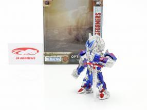 Optimus Prime figura 4 inch Transformers (2017) prata / azul / vermelho Jada Toys