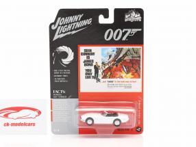 Toyota 2000GT James Bond You only live twice (1967) bianca 1:64 Johnny Lightning