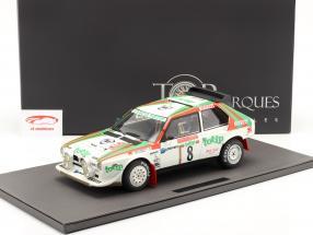 Lancia Delta S4 #8 2 ° Rallye SanRemo 1986 Cerrato, Cerri 1:12 TopMarques