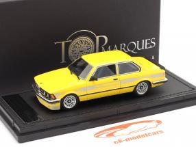 BMW 3er Serie 323 C1 2.3 Alpina Baujahr 1983 gelb 1:43 TopMarques