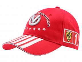 M. Schumacher Ferrari Formula 1 2004 Cap World Champion