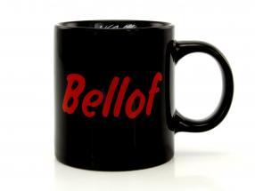 Stefan Bellof caneca de café capacete preto