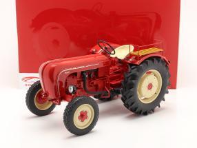 Porsche Super tractor Año de construcción 1958 rojo 1:8 Minichamps