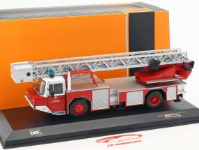 Magirus DLK 2312 Feuerwehr Frankfurt am Main rot 1:43 Ixo / 2. Wahl