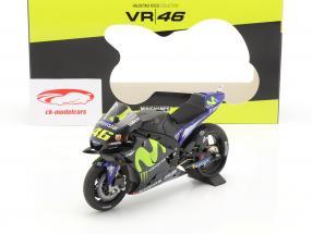 Valentino Rossi Yamaha YZR-M1 #46 Test Valencia MotoGP 2017 1:12 Minichamps