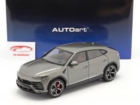 Lamborghini Urus Baujahr 2018 matt grau 1:18 AUTOart