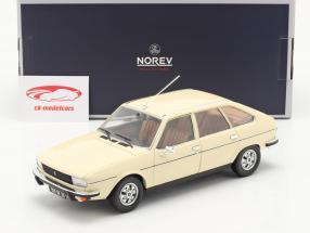 Renault 20 TS Año de construcción 1978 beige 1:18 Norev