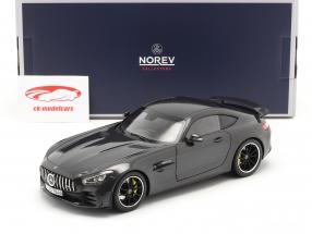 Mercedes-Benz AMG GT R Año de construcción 2019 gris oscuro metálico 1:18 Norev