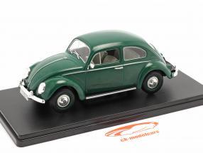 Volkswagen VW Escarabajo 1200 Standard Año de construcción 1960 verde 1:24 Altaya