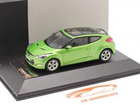 Hyundai Veloster an 2012 vert métallique 1:43 Premium X