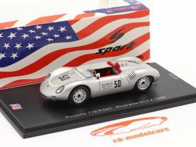 Porsche 718 RS60 #50 200 miles Riverside SCCA 1960 K. Miles 1:43 Spark