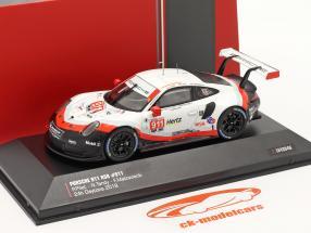 Porsche 911 (991) RSR #911 24h Daytona 2018 Porsche GT Team 1:43 Ixo