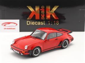 Porsche 911 (930) Turbo 3.0 Baujahr 1976 indisch rot 1:18 KK-Scale